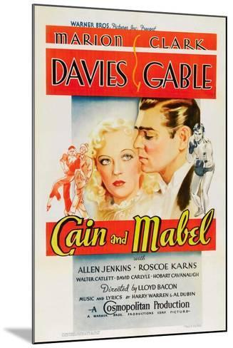 Cain and Mabel, 1936--Mounted Giclee Print
