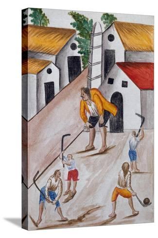 Codice Trujillo Del Perú-Baltasar Jaime Martínez Compañón-Stretched Canvas Print