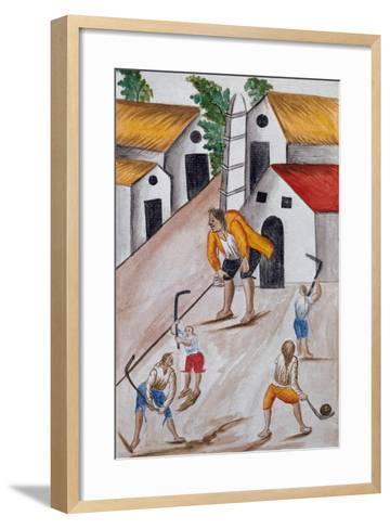 Codice Trujillo Del Perú-Baltasar Jaime Martínez Compañón-Framed Art Print