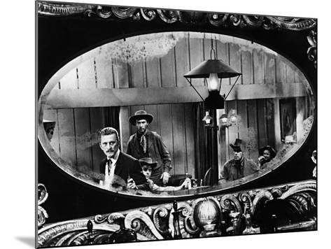 Kirk Douglas, Gunfight at the O, K, Corral, 1957--Mounted Photographic Print