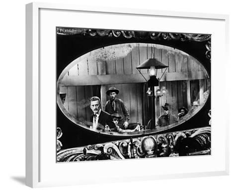 Kirk Douglas, Gunfight at the O, K, Corral, 1957--Framed Art Print