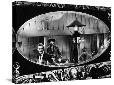 Kirk Douglas, Gunfight at the O, K, Corral, 1957--Stretched Canvas Print