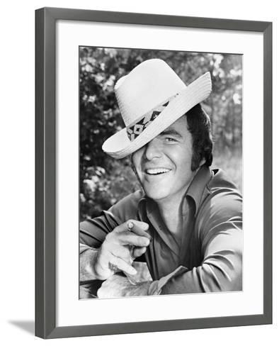 Burt Reynolds, 1973--Framed Art Print