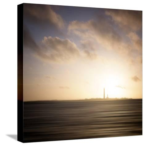 Ile Vierge Lighthouse-Philippe Manguin-Stretched Canvas Print