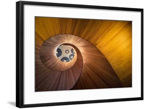 Spiral Gold-Doug Chinnery-Framed Art Print