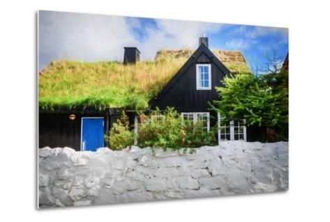 Happiness Is Behind the Wall-Philippe Sainte-Laudy-Metal Print