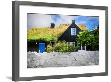 Happiness Is Behind the Wall-Philippe Sainte-Laudy-Framed Art Print