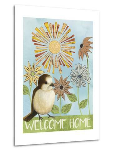 Spring Welcome II-Grace Popp-Metal Print