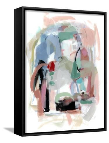 Summer Coral I-Christina Long-Framed Canvas Print