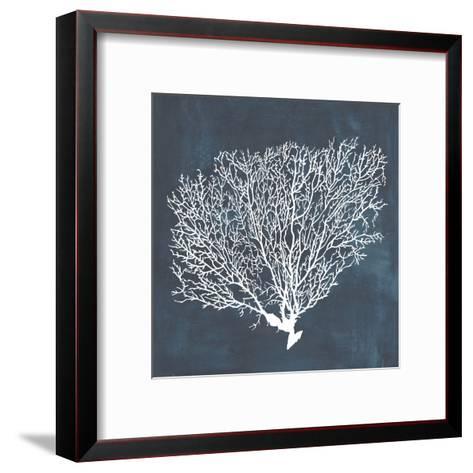 Inverse Sea Fan II-Grace Popp-Framed Art Print