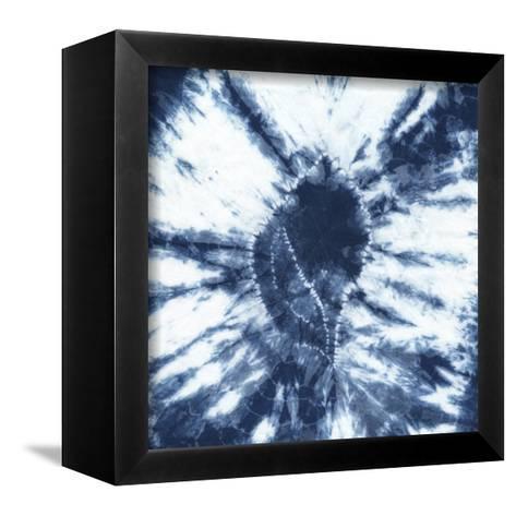 Shibori Shells II-Chariklia Zarris-Framed Canvas Print