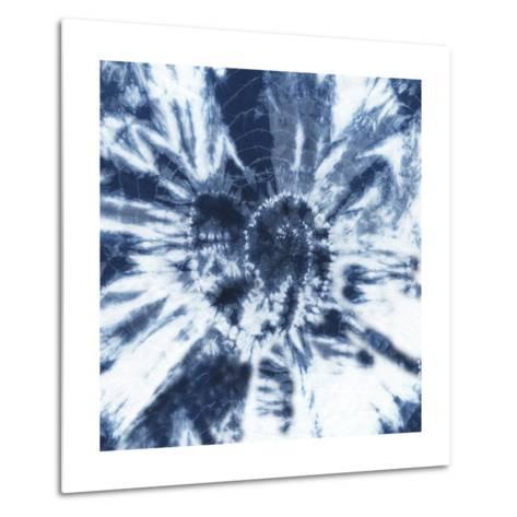 Shibori Shells IV-Chariklia Zarris-Metal Print