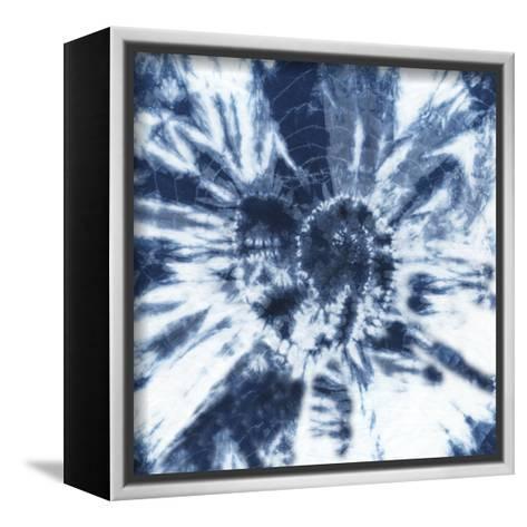 Shibori Shells IV-Chariklia Zarris-Framed Canvas Print