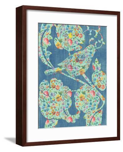 Floral Birds I-Chariklia Zarris-Framed Art Print