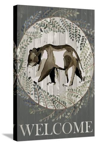 Woodland Welcome III-Grace Popp-Stretched Canvas Print