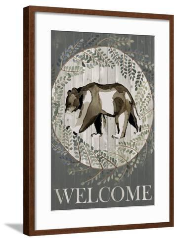 Woodland Welcome III-Grace Popp-Framed Art Print