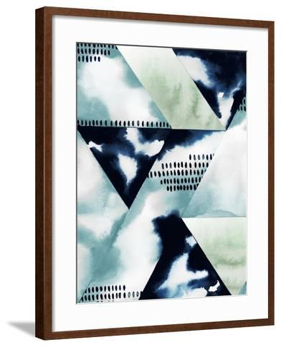 Blue Billow II-Grace Popp-Framed Art Print