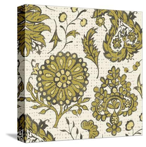 Block Print Tapestry I-Chariklia Zarris-Stretched Canvas Print