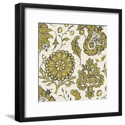 Block Print Tapestry I-Chariklia Zarris-Framed Art Print