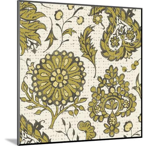 Block Print Tapestry I-Chariklia Zarris-Mounted Art Print