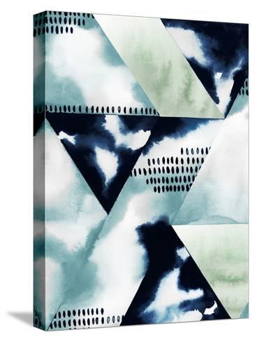 Blue Billow II-Grace Popp-Stretched Canvas Print