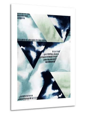 Blue Billow II-Grace Popp-Metal Print