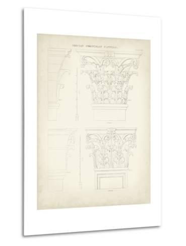 Greek and Roman Architecture III-Thomas Kelly-Metal Print