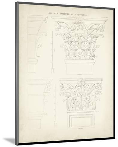 Greek and Roman Architecture III-Thomas Kelly-Mounted Art Print