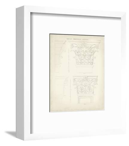 Greek and Roman Architecture III-Thomas Kelly-Framed Art Print