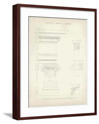 Greek and Roman Architecture V-Thomas Kelly-Framed Art Print