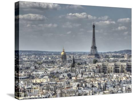 Dessus de Paris-Joe Reynolds-Stretched Canvas Print