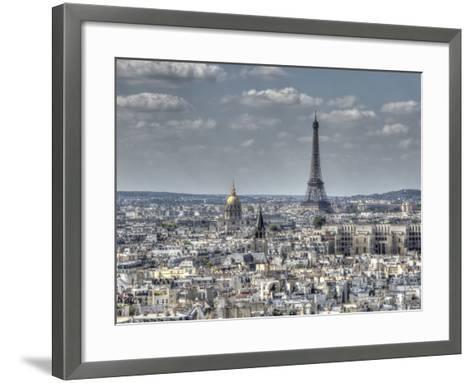Dessus de Paris-Joe Reynolds-Framed Art Print