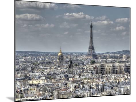 Dessus de Paris-Joe Reynolds-Mounted Photographic Print