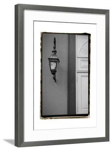 French Quarter Architecture II-Laura Denardo-Framed Art Print
