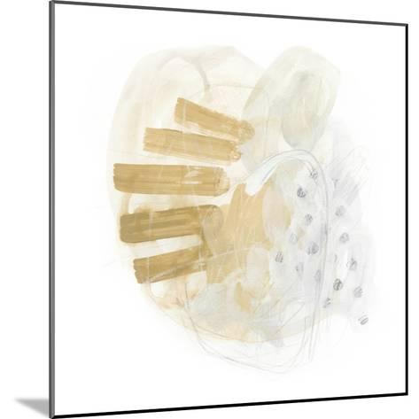 Saffron Energy I-June Vess-Mounted Art Print