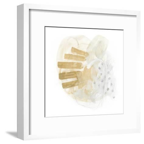 Saffron Energy I-June Vess-Framed Art Print