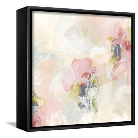 Cherry Blossom II-June Vess-Framed Canvas Print
