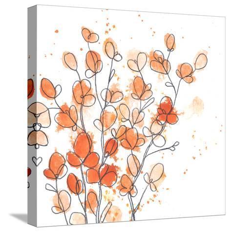 Posy Pop IV-June Vess-Stretched Canvas Print