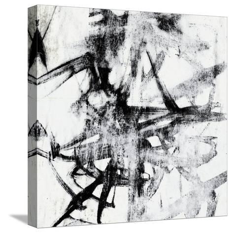 Monotype Scribble II-Jennifer Goldberger-Stretched Canvas Print
