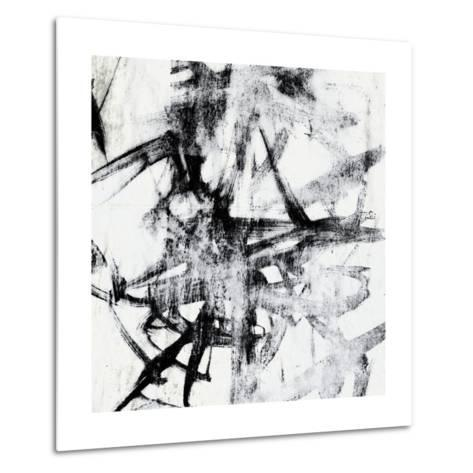 Monotype Scribble II-Jennifer Goldberger-Metal Print
