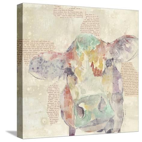 Farm Collage IV-Jennifer Goldberger-Stretched Canvas Print