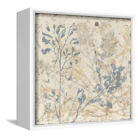 Floral Fan I-Megan Meagher-Framed Canvas Print