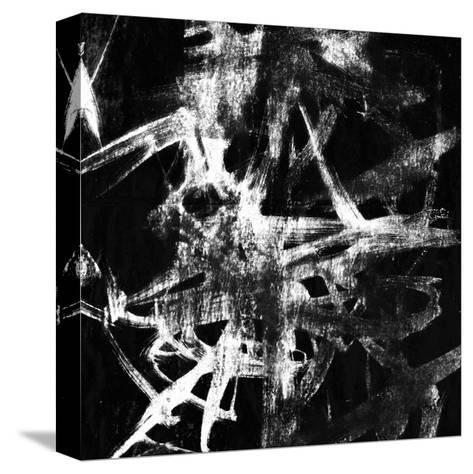 Monotype Scribble IV-Jennifer Goldberger-Stretched Canvas Print