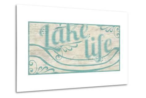 Lake Life I-June Vess-Metal Print