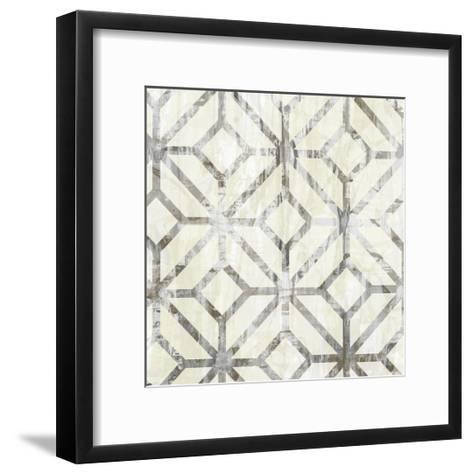 Neutral Metric IV-Jennifer Goldberger-Framed Art Print