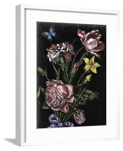 Dark Floral IV-Naomi McCavitt-Framed Art Print
