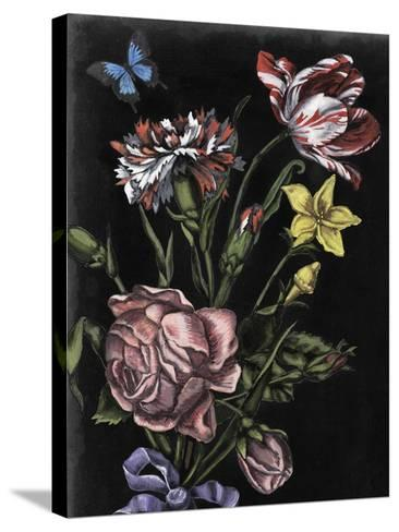 Dark Floral IV-Naomi McCavitt-Stretched Canvas Print