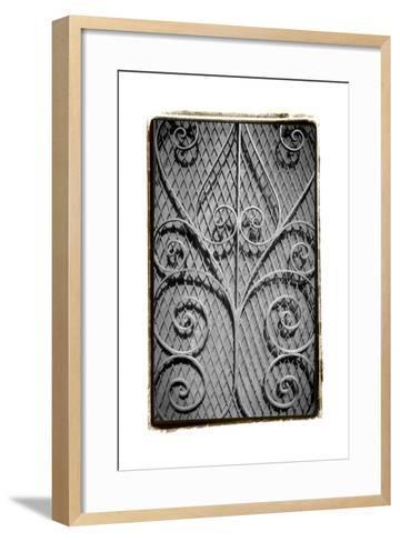 French Quarter Ironwork I-Laura Denardo-Framed Art Print