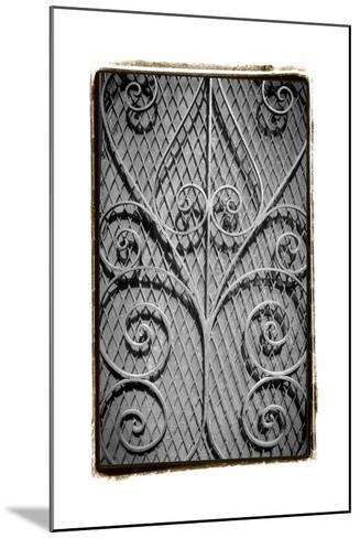 French Quarter Ironwork I-Laura Denardo-Mounted Art Print