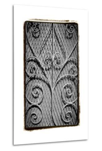 French Quarter Ironwork I-Laura Denardo-Metal Print